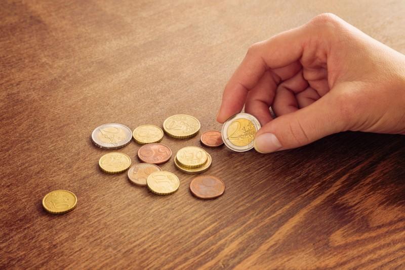 高価値のユーロ硬貨の見分け方