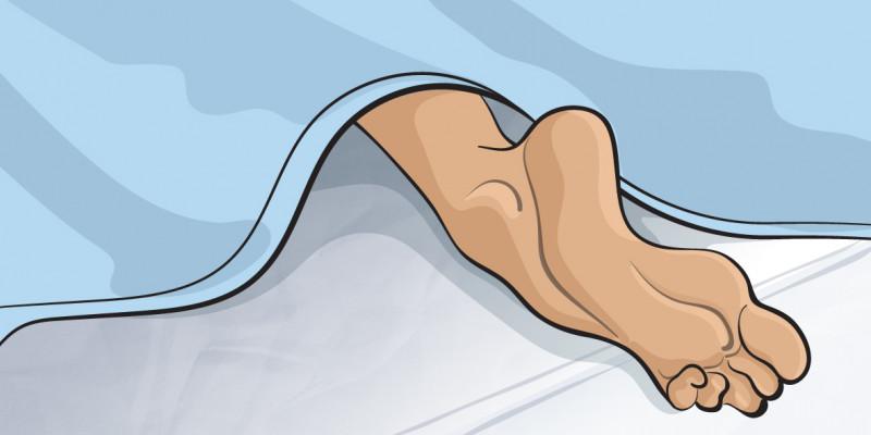 体温 の 寝る 前