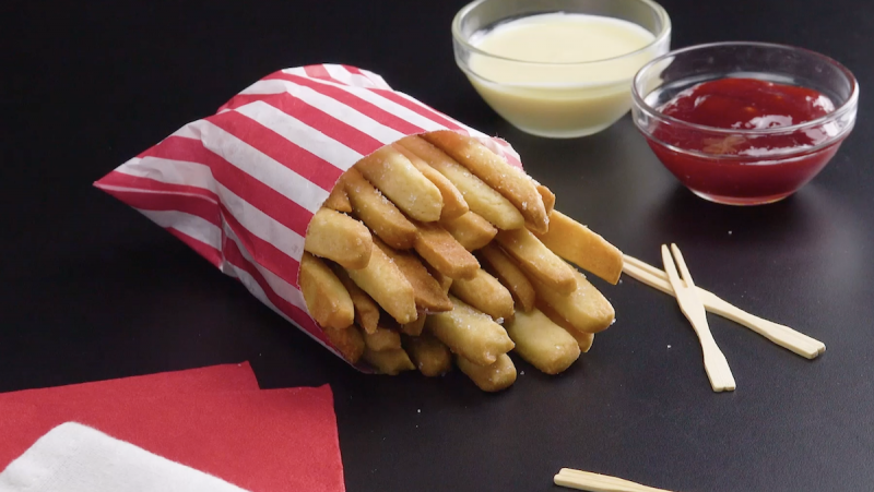 French Fry Cookies