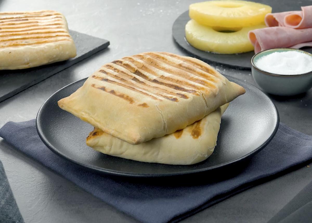 Yogurt Grilled Cheese Sandwich with Ham & Pineapple