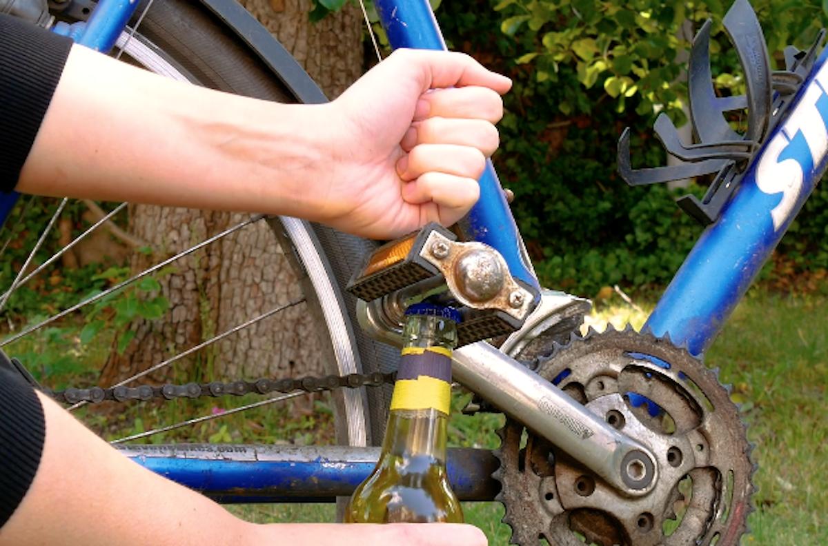 Bike Bottle Opener