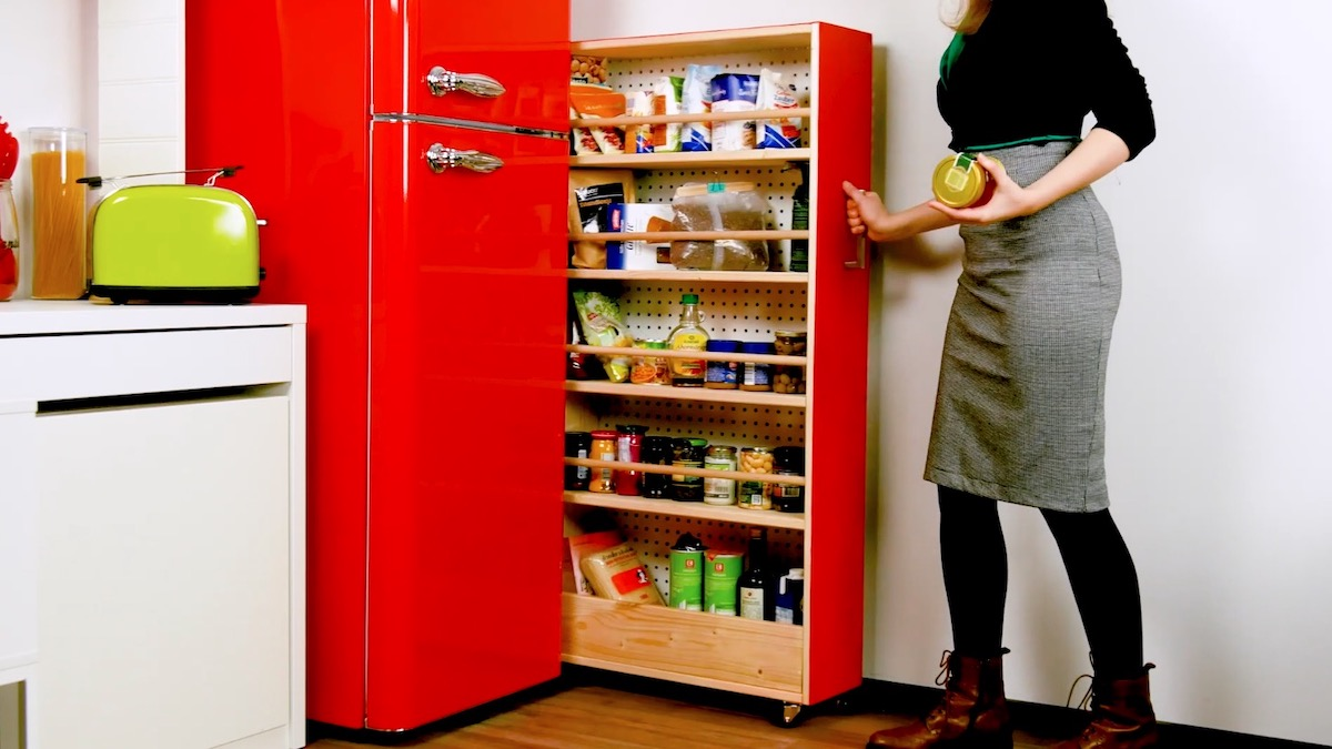 Slide-Out Pantry