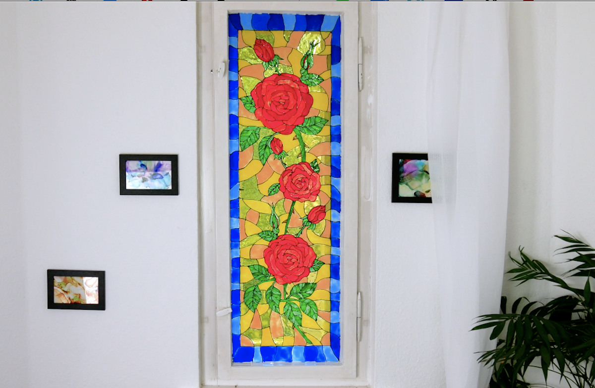 How To Make DIY Stained Glass Windows