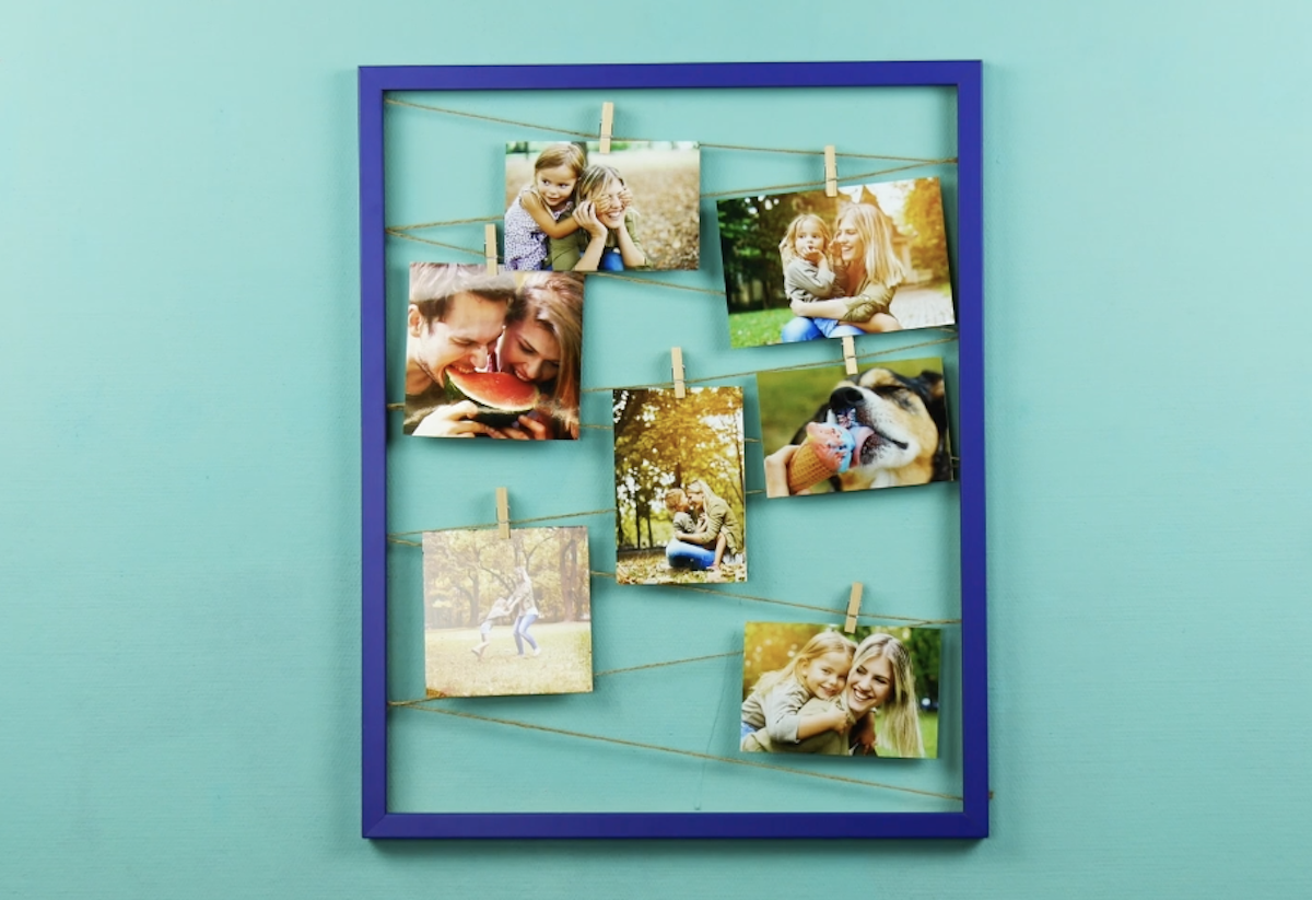 DIY Decorations Using Picture Frames